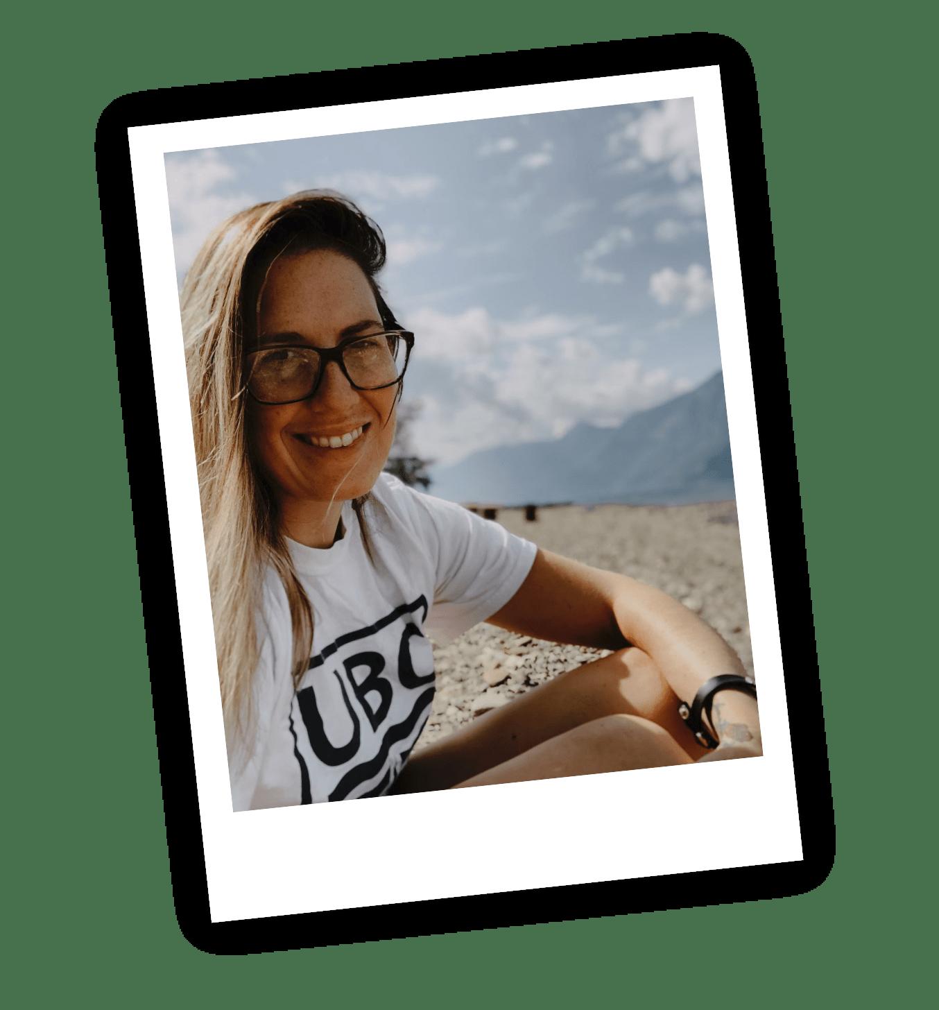 LaCara Biddles on the Beach